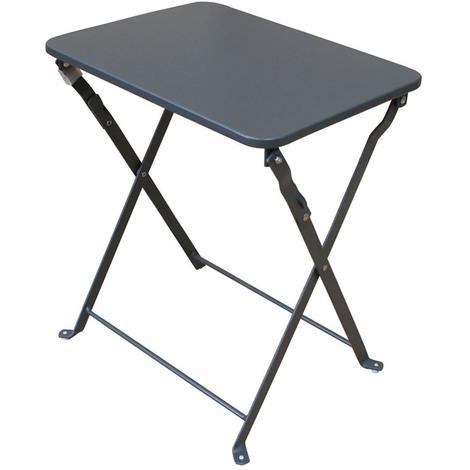 Cm 35 Coloris Dim40 Mat D'appoint Gris X 45 Pegane Foncé Table Pliante 35cAqSjRL4