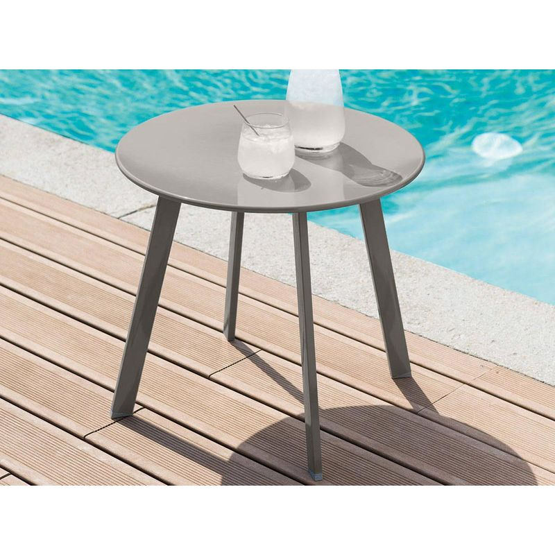 Saona Taupe D'appoint D'appoint Table Table Hespéride KT3Fl1Jc