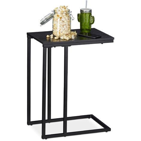 Table D Appoint Veilleuse Petit Meuble D Angle Pour Sofa Lit