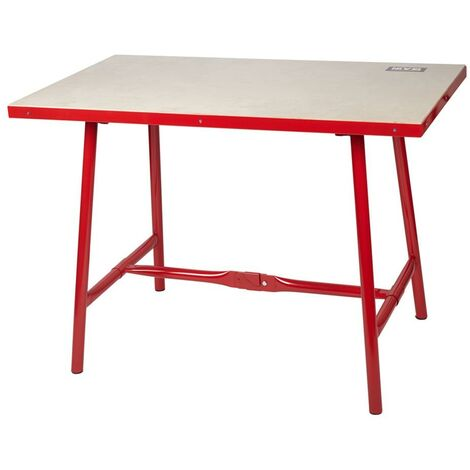 Table d'atelier Red Level Nv126538