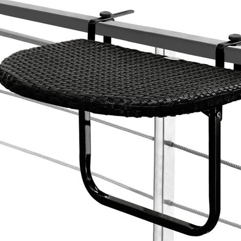 Table De Balcon Tablette Suspendue Ajustable En Hauteur