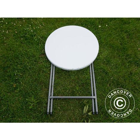 Table de bar ronde PRO Ø80cm, Gris clair