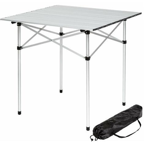 Alu Table 75x55 cm-réglable en hauteur-Table pliante Table de camping Table Pique
