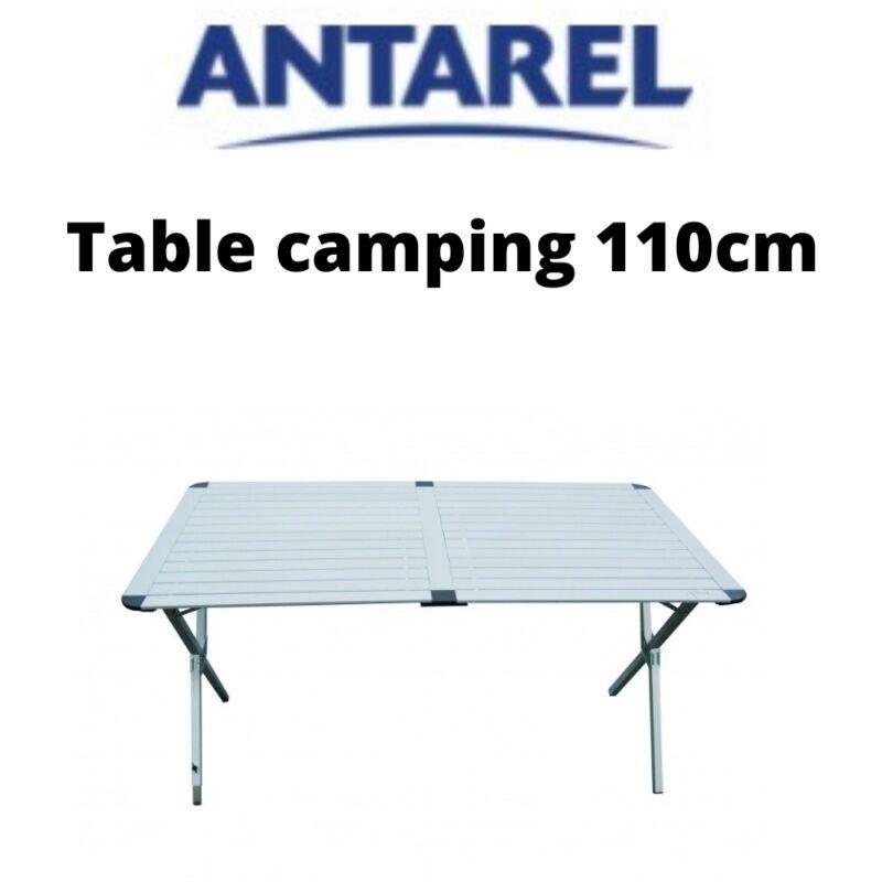 Table de camping pliante en aluminium de 110cm