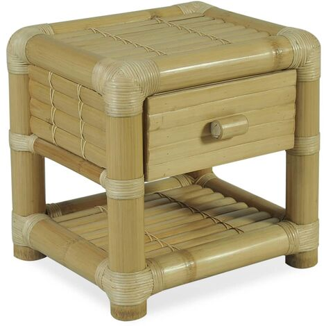 Bamboo bedside tables