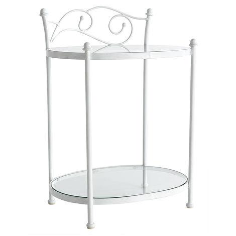 Metal bedside tables