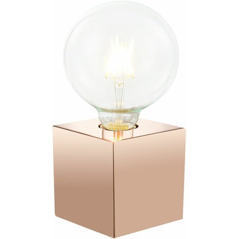 Table de chevet d'écriture rétro lampe tactile en cuivre salon salle à manger éclairage lampe de lecture latérale