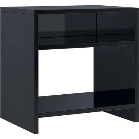 Bedside table storage