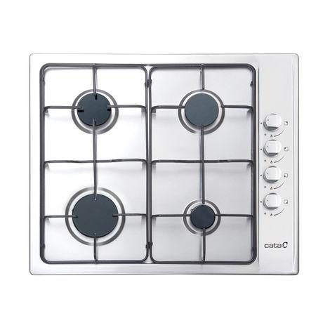 Table de cuisson gaz de 60 cm en acier inoxydable - maintenant avec une garantie de 5 ans