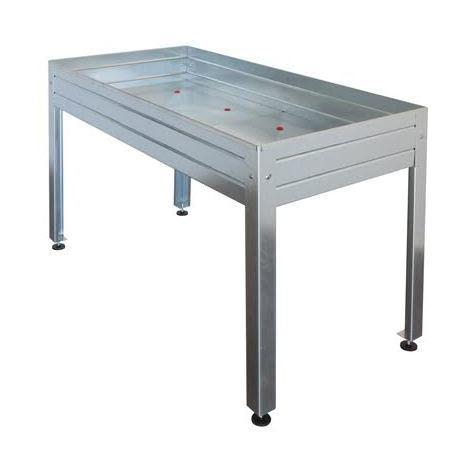 Table de culture / jardinière galvanisée - Plusieurs dimensions
