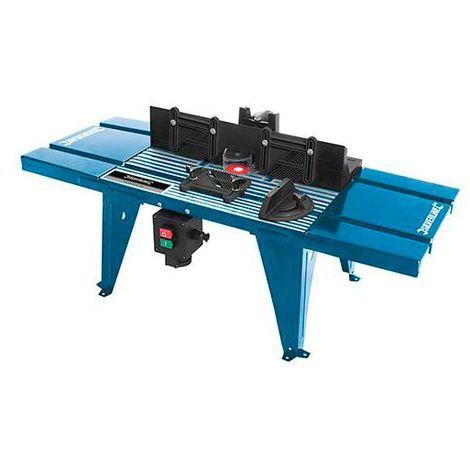 Table de défonceuse avec guide 850 x 330 mm - 460793 - -