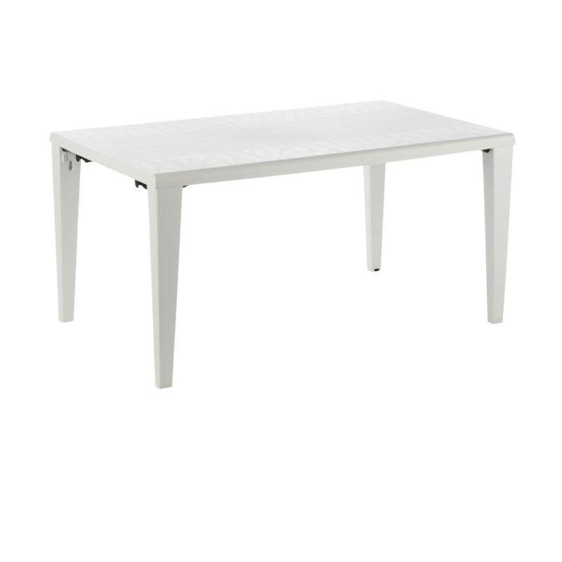 Table de jardin Alpha 150 GROSFILLEX - Blanc - Extérieur