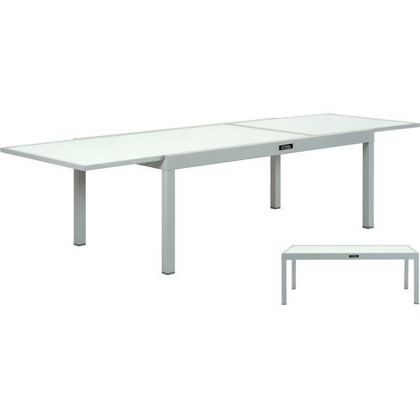 "main image of ""TABLE DE JARDIN ALUMINIUM EXTENSIBLE PORTO 12 - PH"""