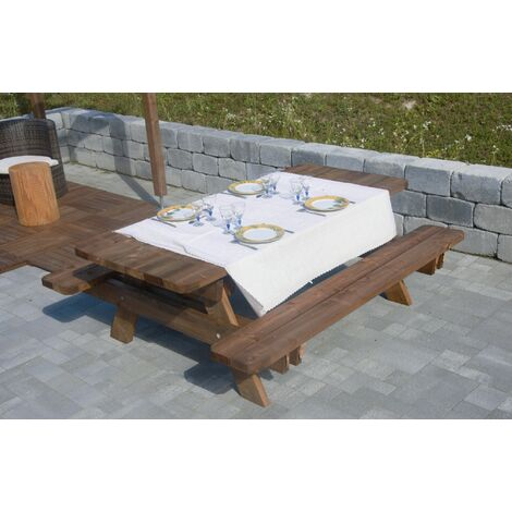 Table de jardin - Bois - Origine France