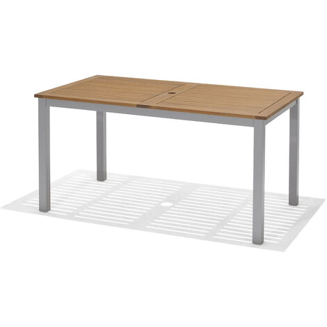 Table de Jardin Chillvert Bérgamo Bois 140x79x74,4 cm