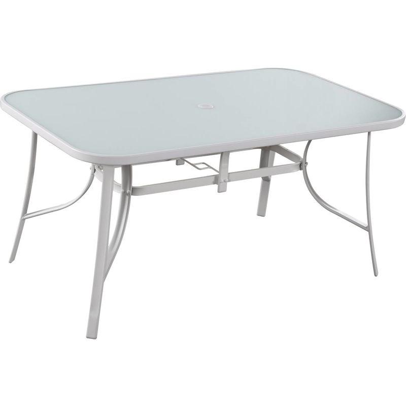 Table de jardin 'Cordoba' - Phoenix - 6 places - Blanc