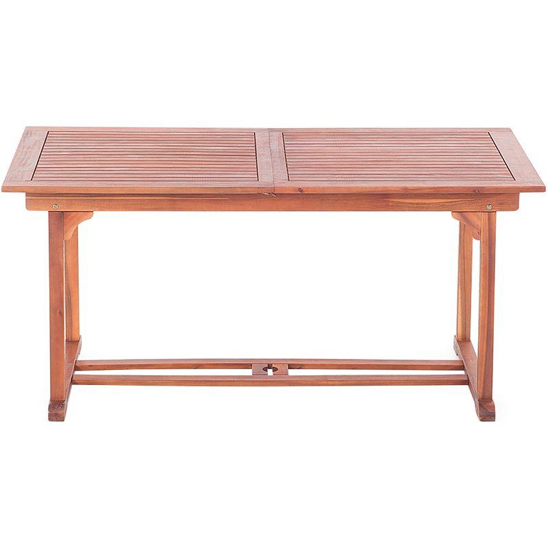 Table de jardin en bois avec rallonges TOSCANA