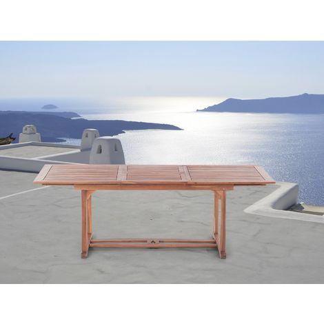 Table de jardin en bois avec rallonges TOSCANA - 2644