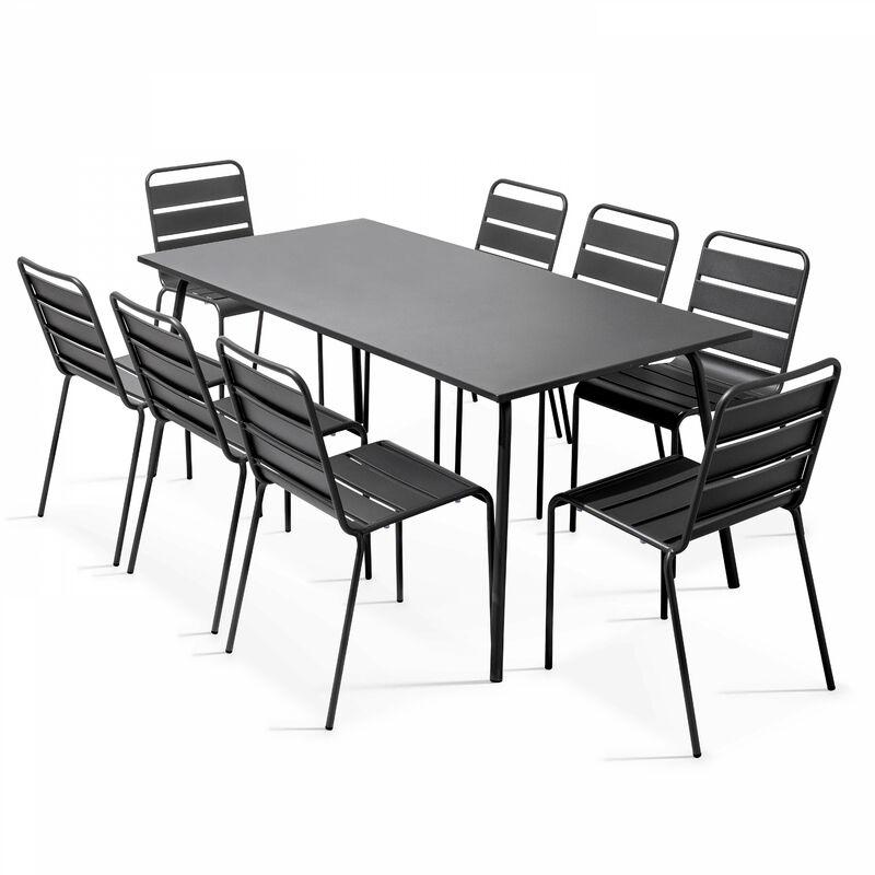 Table de jardin en métal design