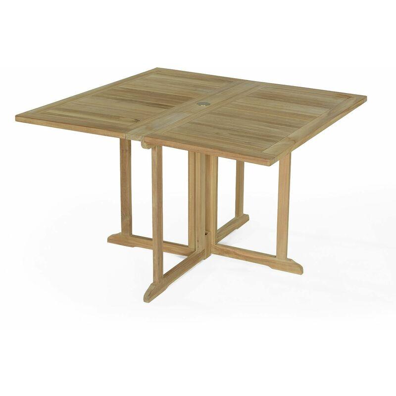 120 Goa De Teck X Pliable Table En Jardin Cm rexoCBdW