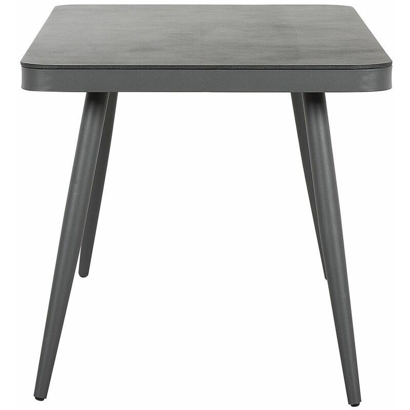 Table jardin grise de LIPARI Table W29HIED