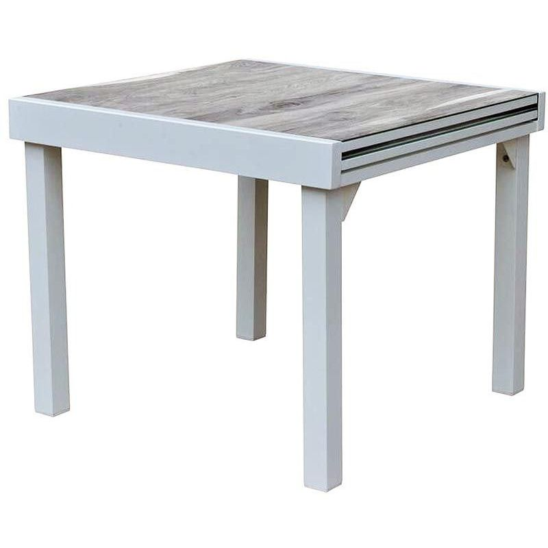 Table de jardin Modulo wood 90 à 180 cm