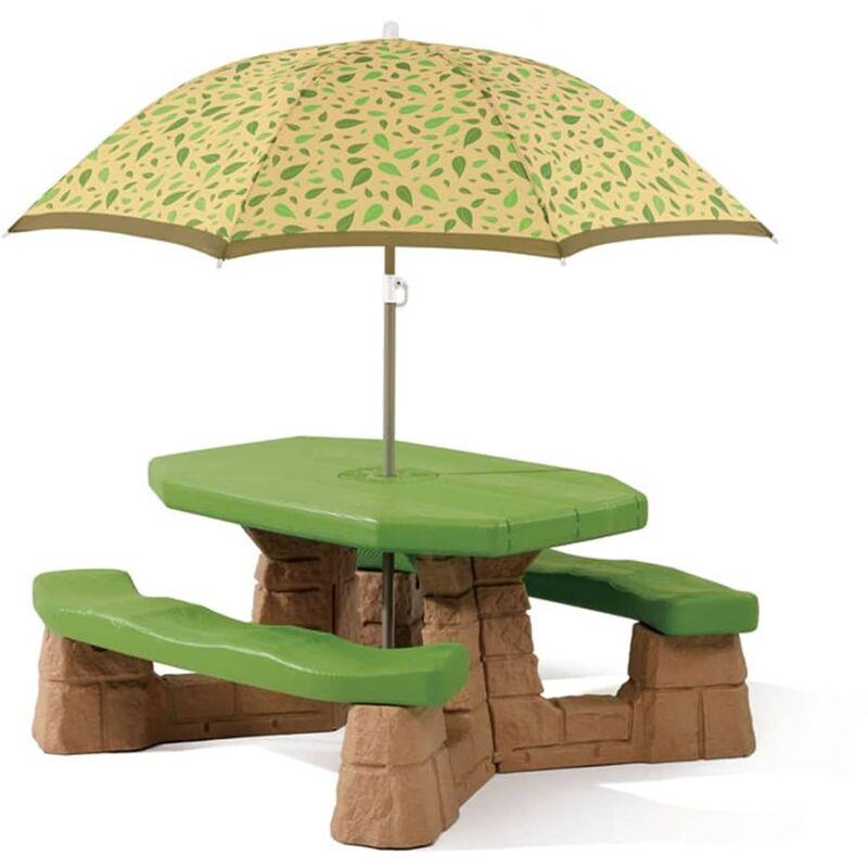 Table Picnic Et Parasol - Step2