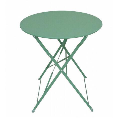 Table de jardin pliante BISTROT - Verte