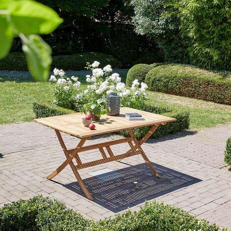Table de jardin pliante en bois d\'acacia FSC -