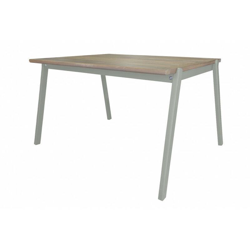 Meubletmoi - Table de jardin pour enfant en bois d'acacia vert - CHARLOTTE 3385 - Vert