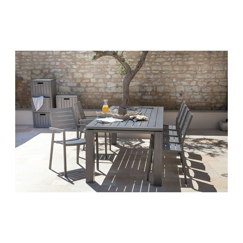 Table de jardin PROLOISIRS Latino Ice 180 cm