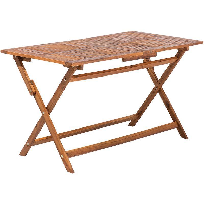 Table de jardin rectangulaire en bois CENTO