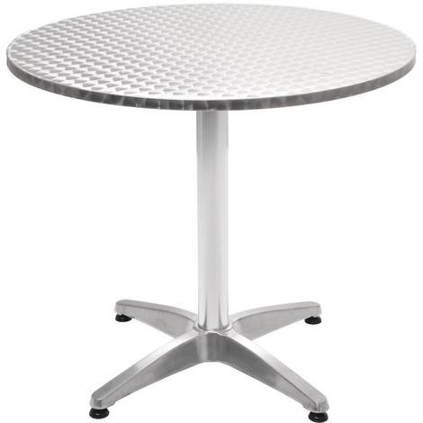 ronde Table 70 de jardin Aluminium x cm 80 MJ43561 j5ARL4