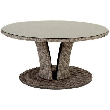 Table de jardin ronde Libertad 8 places - Hespéride - 123838