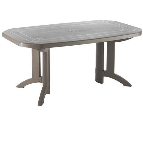 Table de jardin Vega 165x100 GROSFILLEX - Résistant à la chaleur