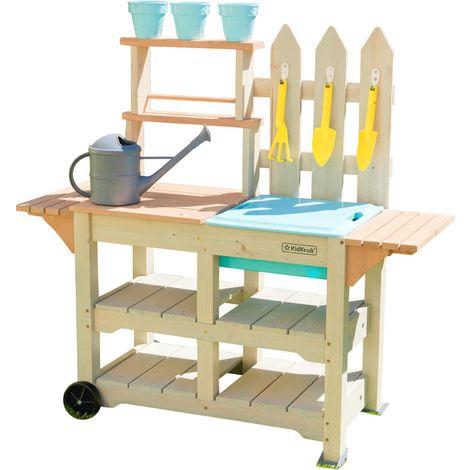 Table de jardinage enfant en bois Greenville