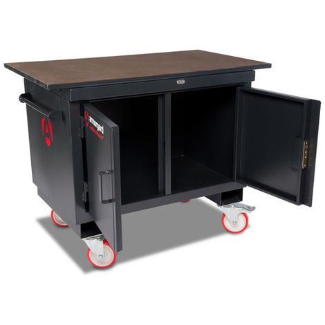 Table de monteur armoire mobile plateau bois ARMORGARD - BH1270M-W