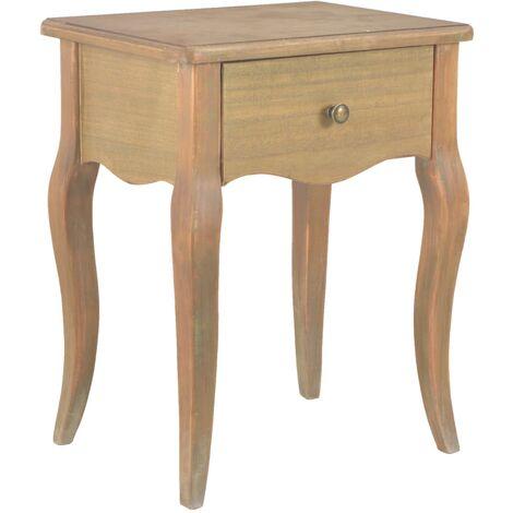 Table de nuit chevet commode armoire meuble chambre 40 x 30 x 50 cm bois de pin massif