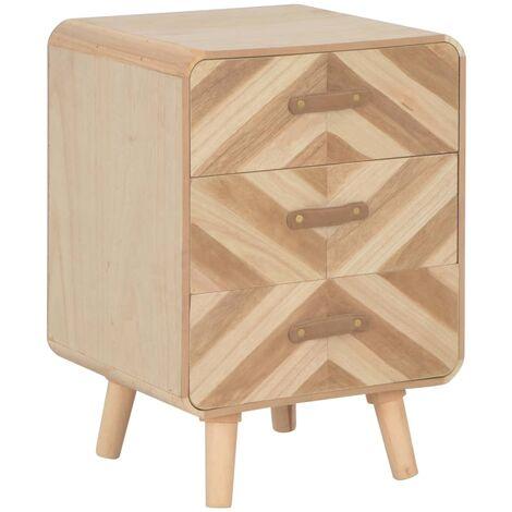 Table de nuit chevet commode armoire meuble chambre avec 3 ...