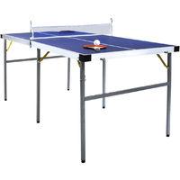 Table de ping-pong pliable - vert - 152 cm