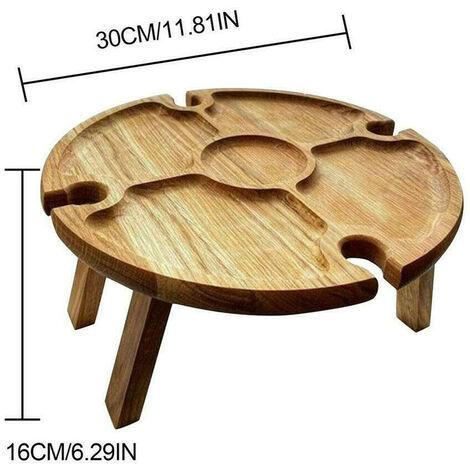 Table de pique - nique pliante en bois