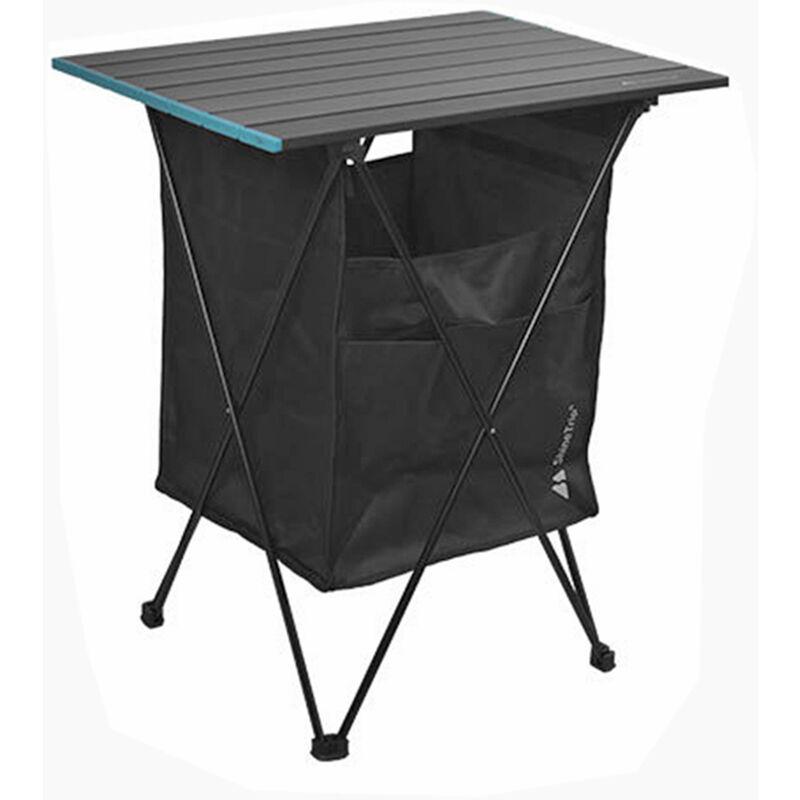 Table De Pique-Nique Pliante Exterieure Avec Poche De Siege Bureau De Camping Portable Avec Vaisselle Sac De Rangement Pour Vetements Pour