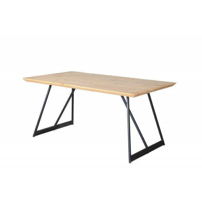 Table de repas fixe 160 cm rectangulaire - DUNE - Bois