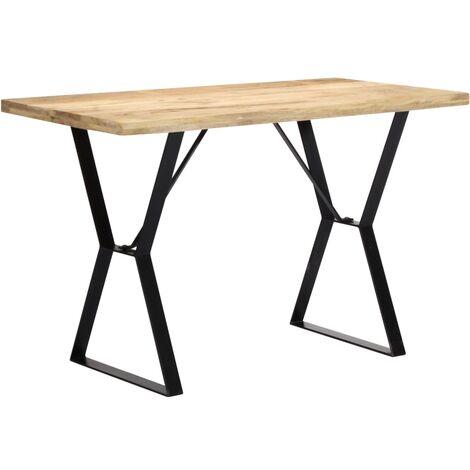 Manguier Solide De Table Cm Manger 247949 Salle 120x60x76 À Bois xordCBe