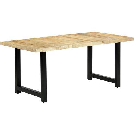Table de salle à manger 180x90x76 cm Bois de manguier massif