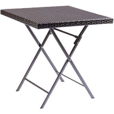 table carrée pliante exterieur