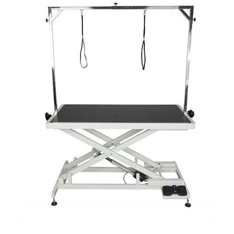 Table de toilettage électrique Tip-Top Désignation : Table électrique | Taille : 120 x 60 cm (plateau) MORIN 2054