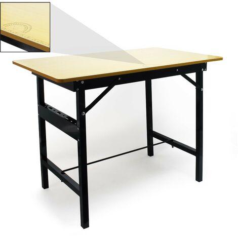 """main image of """"Table de travail Pliable 150 kg max. Établi Surface de travail avec Règle linéaire et Rapporteur"""""""