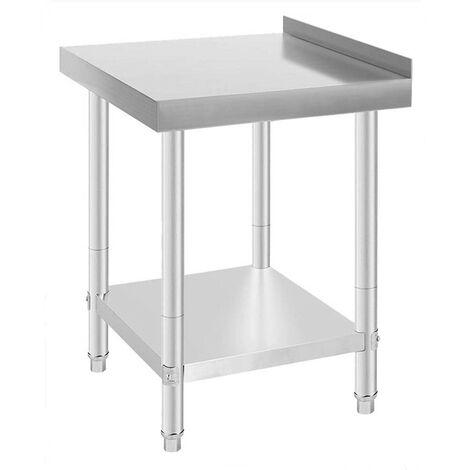 Table De Travail Table De Cuisine En Acier Inoxydable 61 61