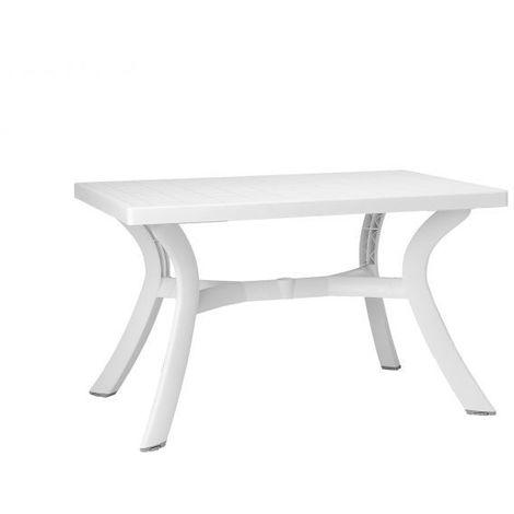 Table démontable rectangulaire Toscana 80x120 par Nardi - Pieds réglables